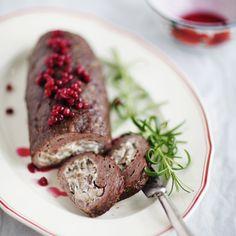 Lihanmureke juhlaan – katso ohje! | Meillä kotona Just Eat It, Meat Loaf, Hygge, Sausage, Steak, Food And Drink, Beef, Treats, Dishes