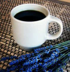 A nod to #nationalcoffeeday with a cup of Lavender Coffee. Want to try? http://www.pelindabalavender.com/Lavender-Gourmet-Coffee-p/889.htm