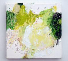 All sizes | Gogatsu no kenkenpa (2011) Oil on canvas, pigment, graphite, coloured pencil 180x180mm | Flickr - Photo Sharing!