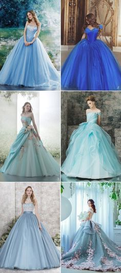 Some dreams are never forgotten, like the romantic vision of happily-ever-after you had since you were a little girl. You were probably watching your favorite princess in a Disney movie the first time you dreamed about your own big day.  Today we've collected our favorite Disney-worthy wedding gowns to fit your favorite Disney princess! Your … #beautydresses