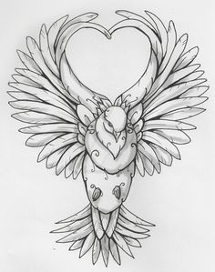 Dove and Heart by artfullycreative on DeviantArt