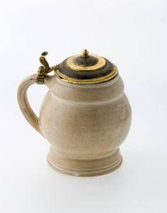 Beer jug, Germany, early 17th century. Gustavianum - Uppsala universitetsmuseum.