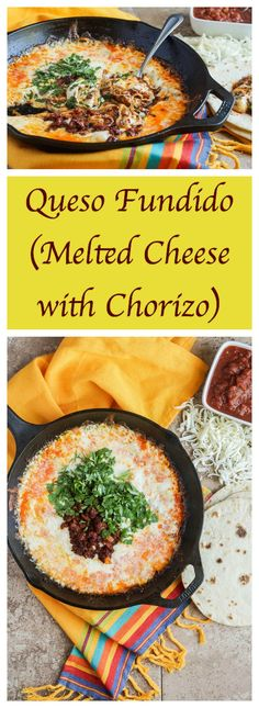 #SundaySupper is kicking theweek off with a celebration of easy recipes for Cinco de Mayo!Shelby of Grumpy's Honeybunchis hosting this week and I am sharing a recipe forQueso Fundido, Mel…