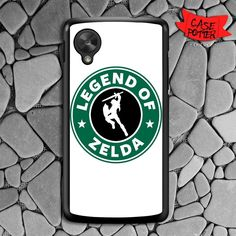Legend Of Zelda Costum Logo Nexus 5 Black Case