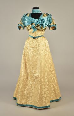 Evening dress ca. 1890 From Whitaker Auctions