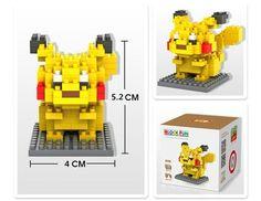 POKEMON MODEL BLOCKS Pikachu! only $4.99 Free shipping on all orders! animemaniacs.me/home