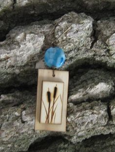 Wood Burned Cattails by BirchandBlooms on Etsy, $20.00