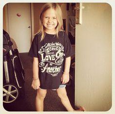 My little t-shirt model