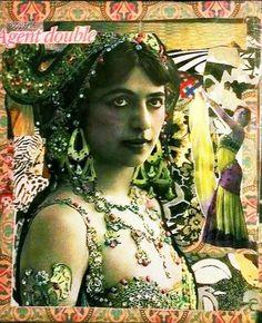 Collage by VDM - Mata Hari: Agent trouble