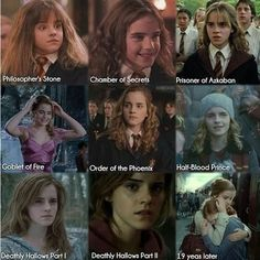 Day 3 Favorite Hogwarts student during Harry's time: Hermione Granger. Mundo Harry Potter, Harry Potter Puns, Harry Potter Pictures, Harry Potter Cast, Harry Potter Universal, Harry Potter Characters, Harry Potter World, Fans D'harry Potter, Potter Facts