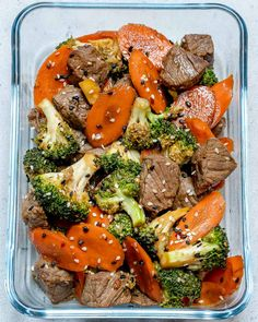 Super Easy Beef Stir Fry for Clean Eating Meal Prep! | Clean Food Crush
