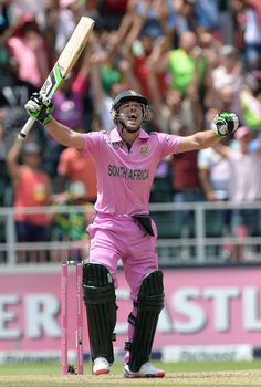 Ab De Villiers and South Africa shatter the batting records