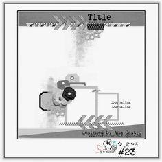 """Mag&Scrap: """"SomeOne like You """" : sketch #23 Scrap & Music"""