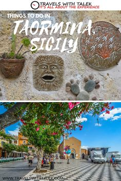 Sicilian food is amazing and the sights are a beauty to behold in Taormina.  Read more at www.travelswithtalek.com