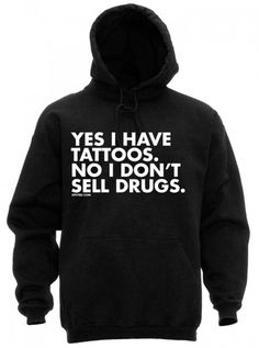 """I Don't Sell Drugs"" Men's Hoodie by Dpcted Apparel 