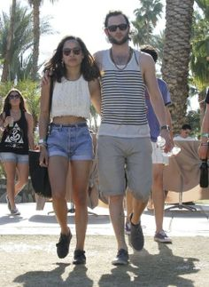 Zoe Kravitz and Dan... hipster love