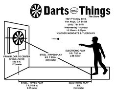 Dart Board Regulations How The Pro S Do It Dart Games