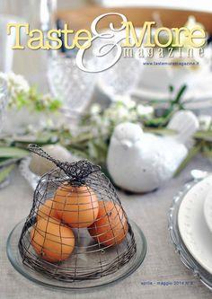 Taste&More Magazine aprile-maggio 2014 n°8  Rivista di cucina ed arte culinaria