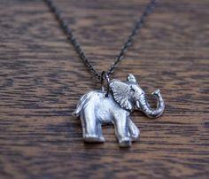 Elephant Necklace <3