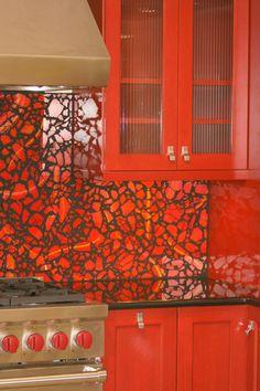 Tempered Glass Kitchen Installation By Zoe Mosaic Designs Mosaic Backsplash,  Mosaic Wall, Kitchen Backsplash