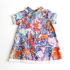 Vintage Girls Safari Night Dress // www.shopsweetthreads.com