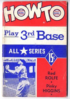 How to Play 3rd Base by baseballart, via Flickr
