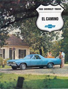 1968 Chevrolet El Camino SS 396 Pickup Truck