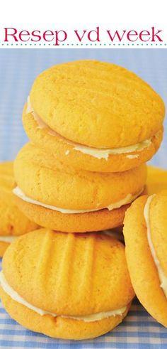 Vrouekeur | Vlakoekies | Custard cookies