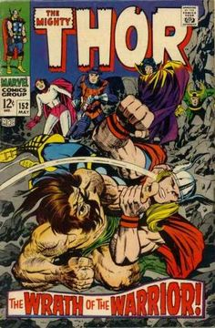 Mighty Thor # 152 by Jack Kirby & Vince Colletta