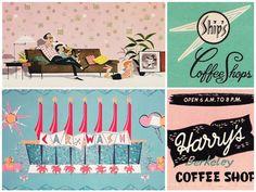 vintage 50s advertising