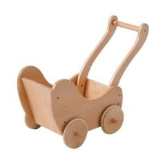Amazon.com: Wooden Doll Buggy - For all Sized Dolls: Toys & Games