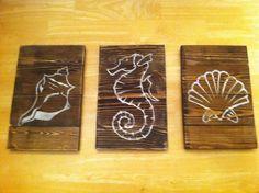 3 Piece Beach Wall Art Set