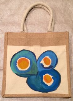The Sunny Side Up Tote by TheArtsyNina on Etsy