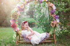 Secret Garden Themed Children's Photography Session - Colorado Children's Photographer - Erin Jachimiak Photography