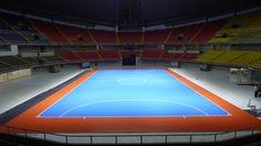 Dalla Riva Sports parquet #Futsal World Cup FIFA 2016 #Colombia