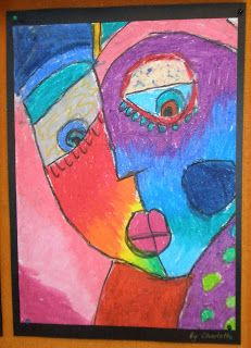 Art with Mrs Baker: Silberzweig-Inspired Portraits in Oil Pastel