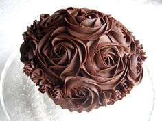 chocolate giant cupcake photo