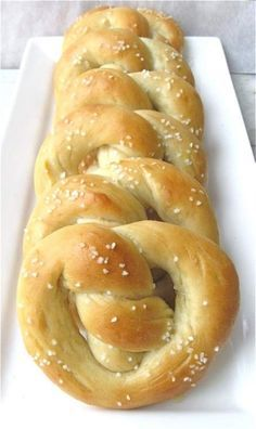 "Use ""wasted"" sour dough starter for pretzels."