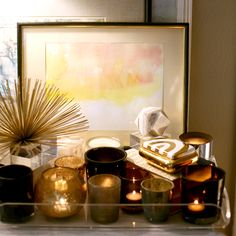 I can use a few of my many votive candle holders