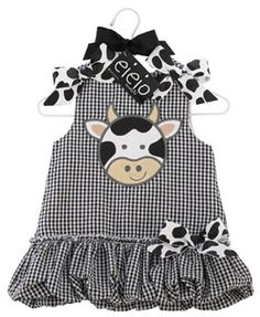 Mud Pie EIEIO Bubble Dress... Adorable!