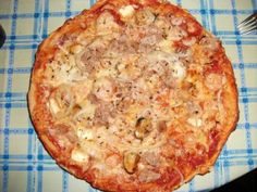 Meeresfrüchtepizza - selbst gemacht! Mein Wunsch am 1. Sündentag der Slow Carb Diät