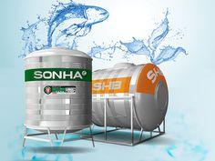 Sơn Hà cho ra mắt 2 dòng bồn nước inox mới SHB và ECO