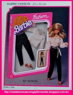 Barbie Fashion 1983, by Estrela