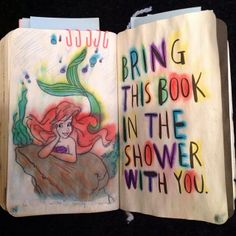 Wreck This Journal - Bring This Book In The Shower With You