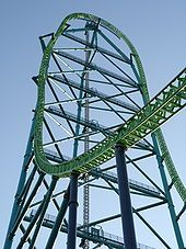 World's tallest roller coaster, Kingda Ka in New Jersey. Would like to ride it sometime before I die.