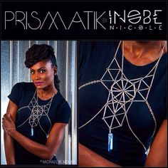 The Polytope Chest Plate from Prismatik by Inobe Nicole