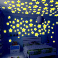 50 fluorescent luminous baby bedroom storage rooms Star Baby children's toys sticker adhesive sticker Free #>=#>=#>=#>=#> Click on the pin to check out discount price, color, size, shipping, etc. Save and like it!