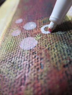 Painting Flowers from Imagination: Orange Bouquet on ARTiful, painting demos
