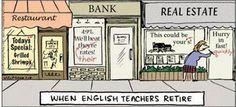 """When English Teachers Retire"" --Grammar & Writing Blog | Grammarly"