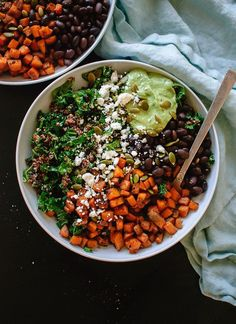 The healthy recipes you need to start 2016 off right. Try a Southwestern Kale Power Bowl